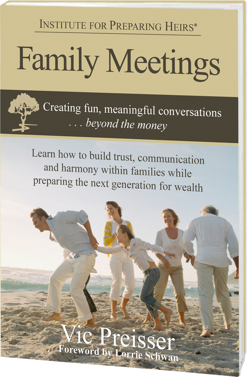 Family Meetings book